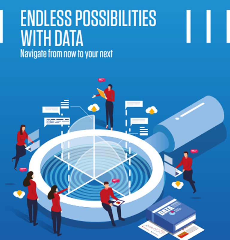 Endless Possibilities With Data — Navigate from now to your next