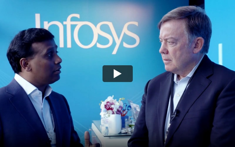 WEF talk: Ravi Kumar S in conversation with Michael Crow (05:09)