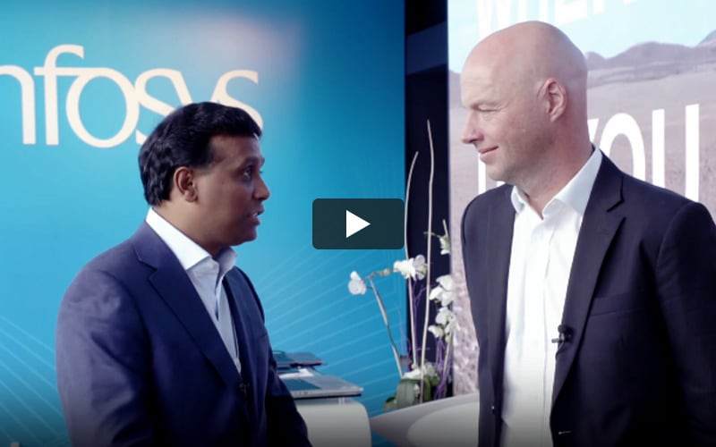 WEF talk: Ravi Kumar S in conversation with Sebastian Thrun (05:01)