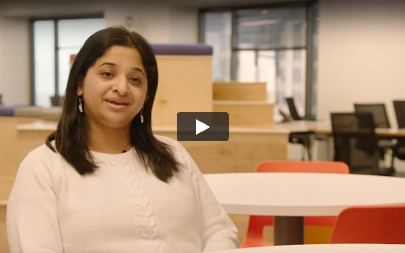Swetha from Indianapolis hub shares her experience with Infosys