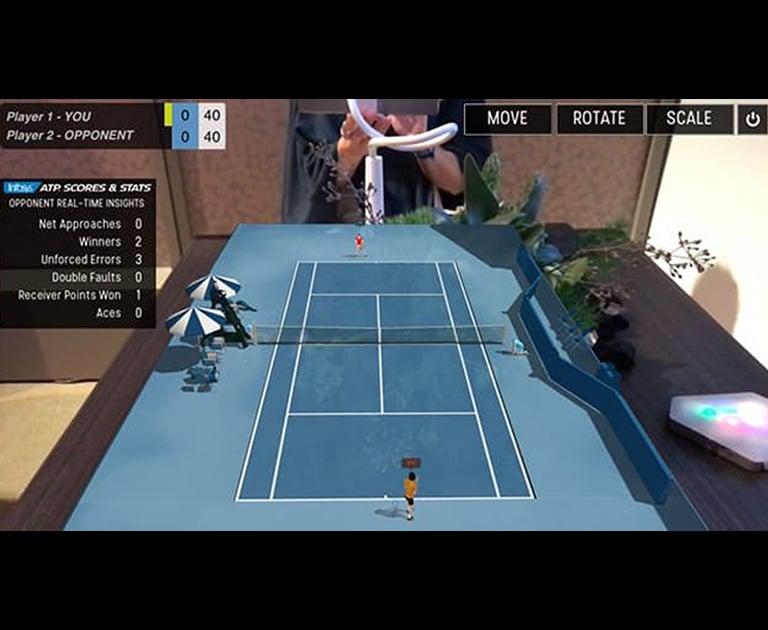 Tennis Platform Infosys