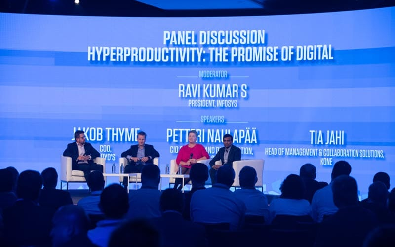 Day 1: Panel Discussion: Hyper-productivity - The Promise of Digital