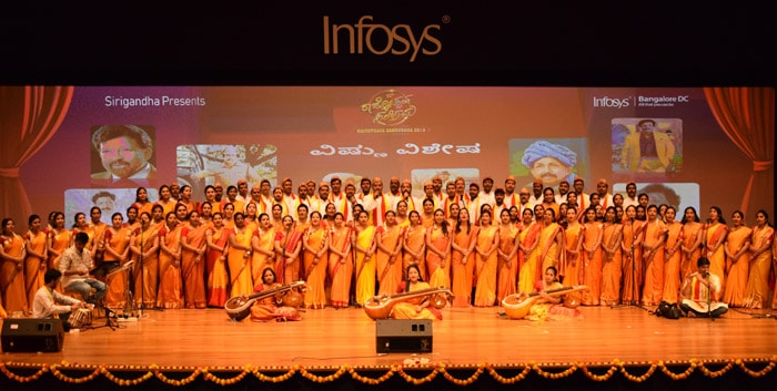 Infosys Bangalore DC Concludes the 12th Edition of Rajyotsava Sambhrama