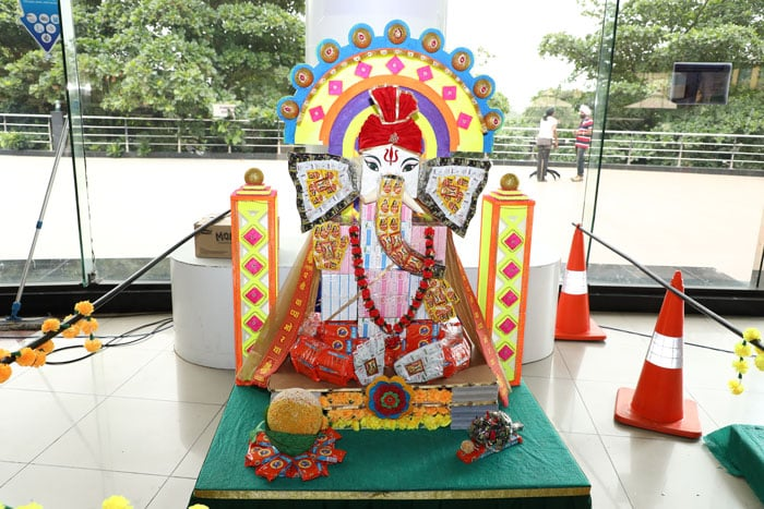 Infosys Hyderabad DC Goes Green this Ganesh Chaturthi
