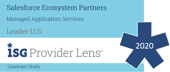Infosys positioned as a Salesforce Ecosystem Leader in ISG Provider Lens 2020 report