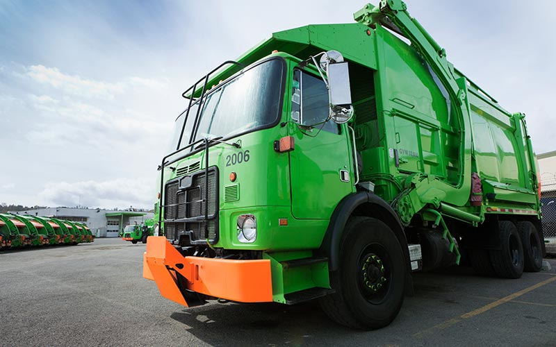 Smart logistics for waste collection and treatment