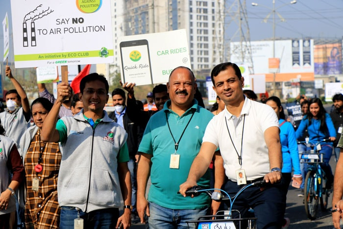 Infosys Pune Development Center organized Anti-Pollution March