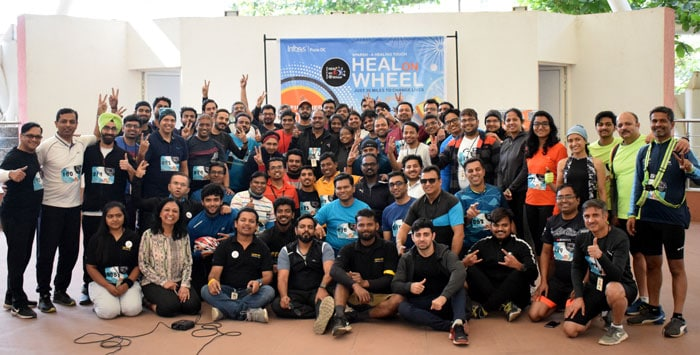 Infosys Pune Successfully Concludes its Fund Raising Campaign HEAL on Wheel