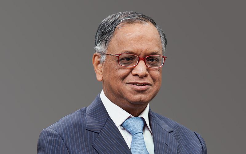 Infosys - N.R. Narayana Murthy: Founder