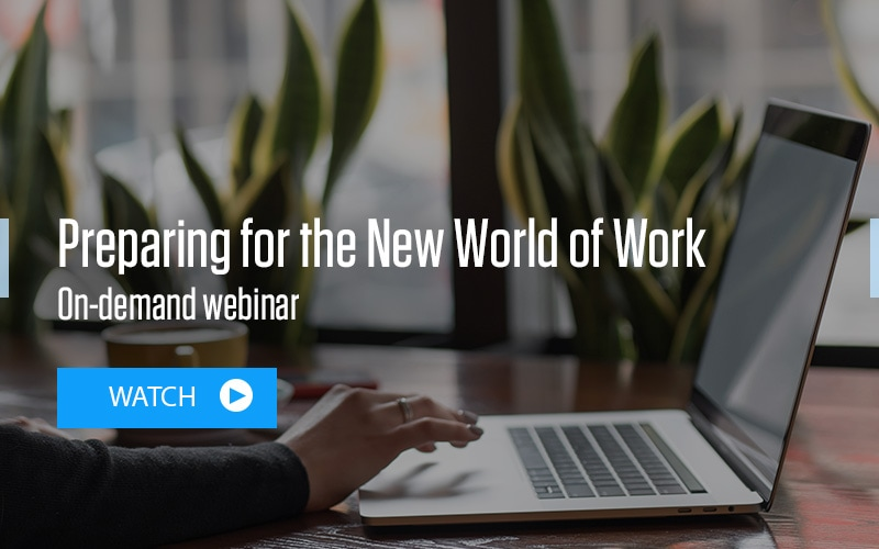 Being Resilient. That's Live Enterprise: Preparing for the New World of Work On demand watch webinar
