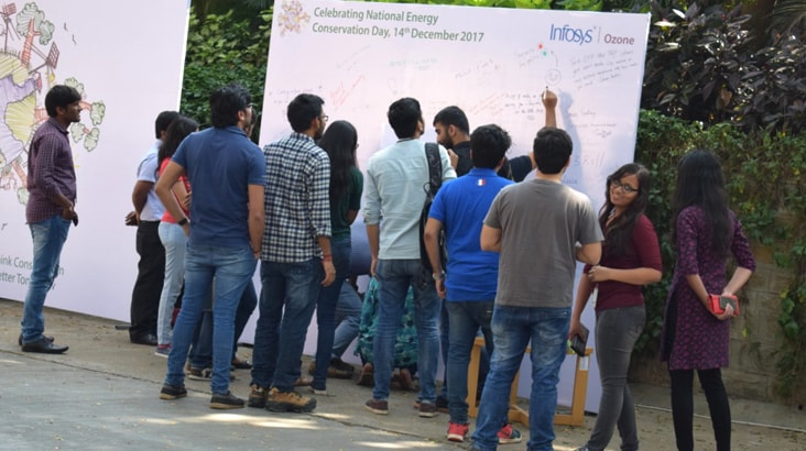 Infosys Bangalore DC Celebrates National Conservation Day