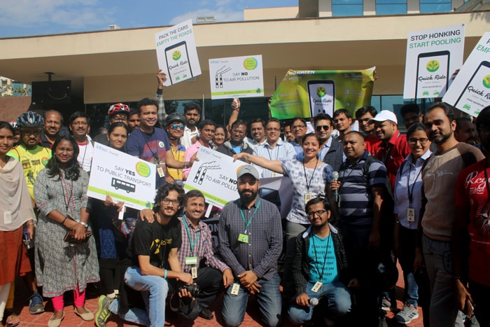 Infosys Pune Development Center Organizes Anti-Pollution March