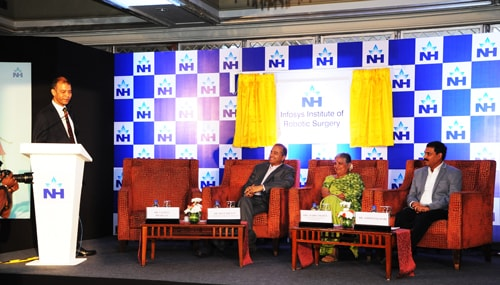 Infosys Foundation supports Narayana Health to launch an Institute of Robotic Surgery
