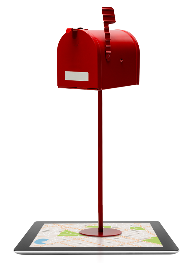Postbox stand
